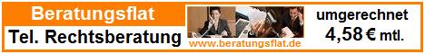 Beratungsflat - telefonische Rechtsberatung