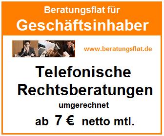 Telefonische Rechtsberatungen für Geschäftsinhaber